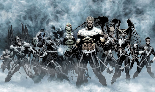 blackest night justice league