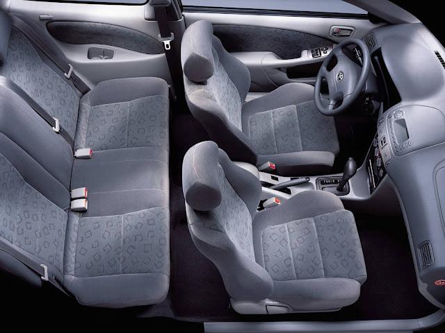 Toyota Corolla 1999 - interior