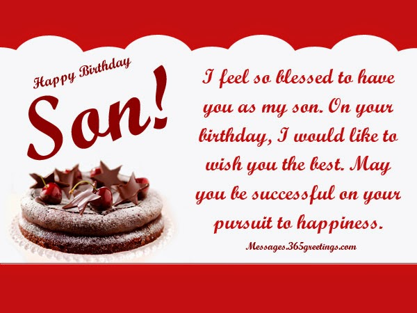 All Wishes Message Greeting Card And Tex Birthday For My Best Friend Son