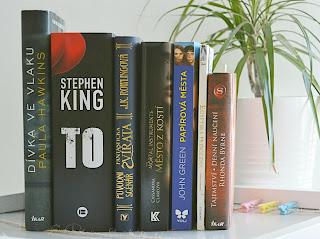 Seznam oblíbených knížek.
