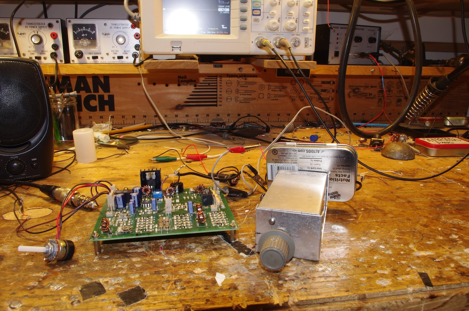 soldersmoke daily news hacking the hackable bitx 40 module vfo