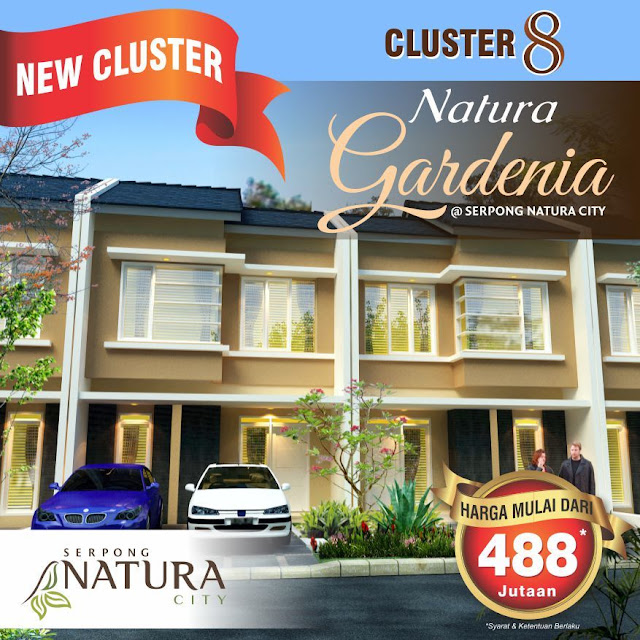 gardenia cluster serpong natura city