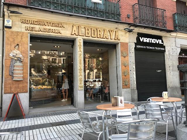 Horchateria Alboraya Madrid