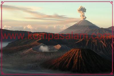 Mount Bromo, Java.
