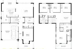 2 Storey Residential House Floor Plan Philippines Design