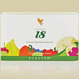 Хранителна добавка 18 от природата /Forever Nature's 18/