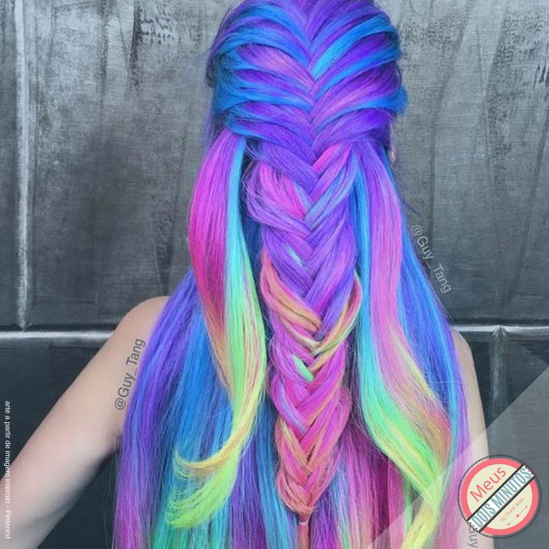 cabelo colorido - collorfull hair