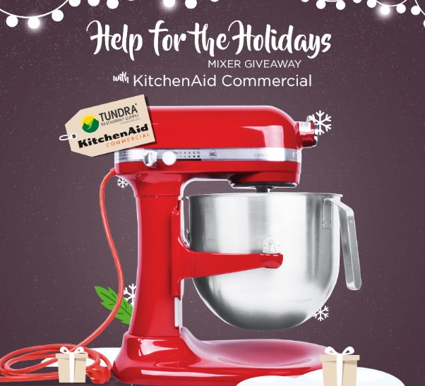 HOLIDAYS KITCHENAID MIXER GIVEAWAY