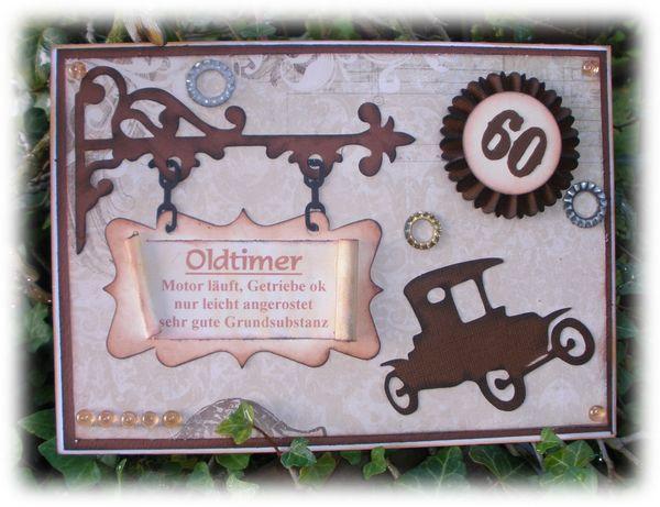 Das Kartenspiel Ein Oldtimer