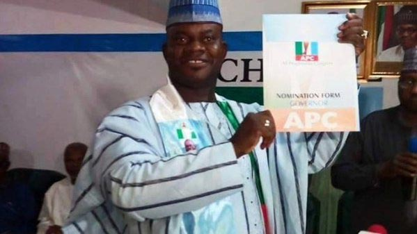 Kogi APC leaders in emergency meeting after stoning of gov Yahaya Bello's convoy