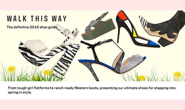 Walk this Way: The Definitive SS16 Shoe Guide