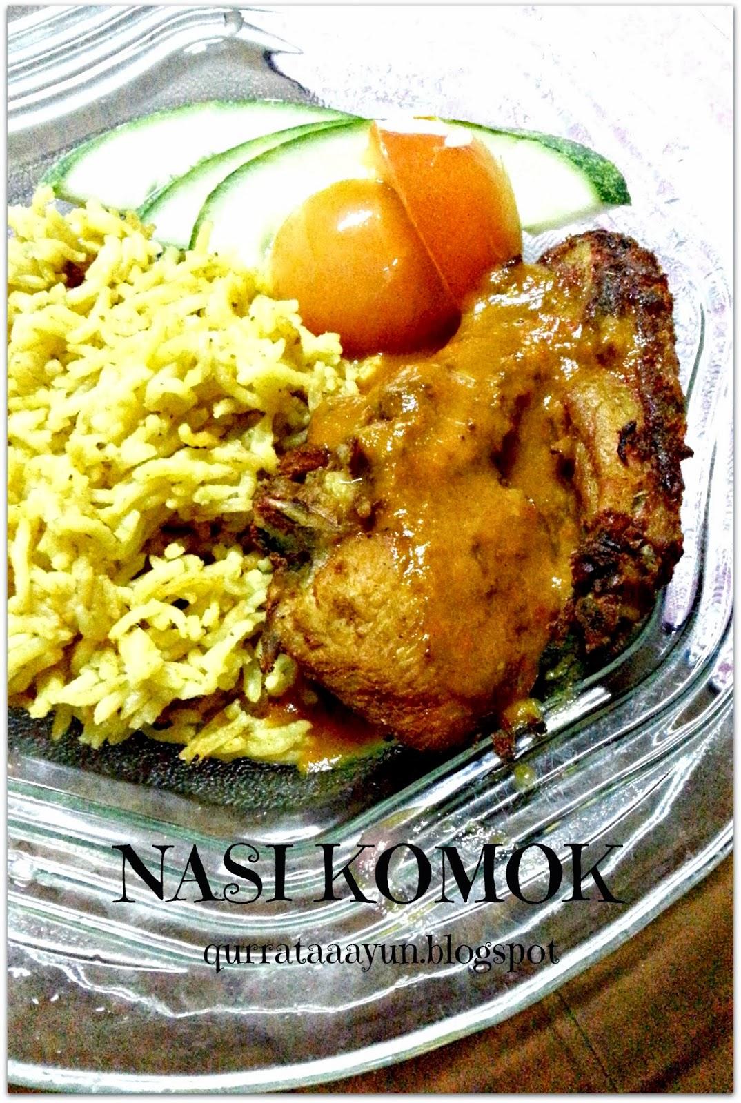 Resepi Nasi Komok Azie Kitchen