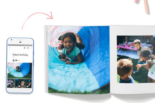 Google Foto - Nasıl fotoğraf kitabı yapabilirim?