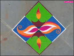 Easy Designs Of Rangoli For Diwali