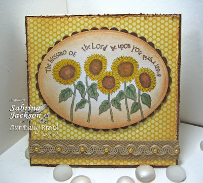 Our Daily Bread designs Harvest Blessings Designer Sabrina Jackson