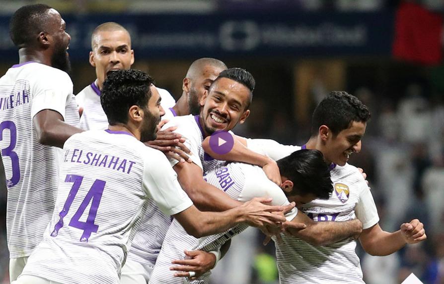 شاهد ملخص واهداف مباراة العين الامارتى والترجى التونسى 3 - 1  فى ربع نهائي كأس العالم للأندية