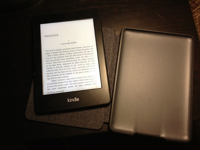 Lighting Kindle Paperwhite 3G