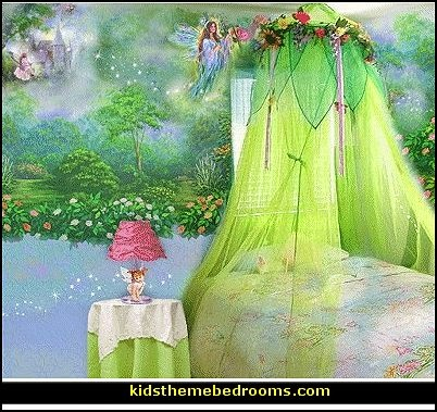 Decorating theme bedrooms maries manor fairy bedroom for Enchanted forest bedroom wall mural