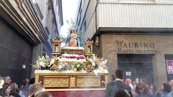 Horarios e Itinerarios de las dos procesiones recorrerán hoy el centro de Córdoba