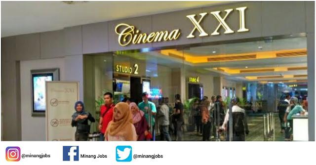 Lowongan Kerja Sumbar Bioskop Plaza Andalas XXI Padang