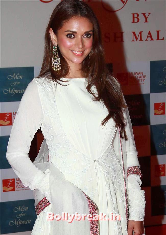 Aditi Rao, Top Bollywood Celebs at Men For Mijwan Charity Fashion Show