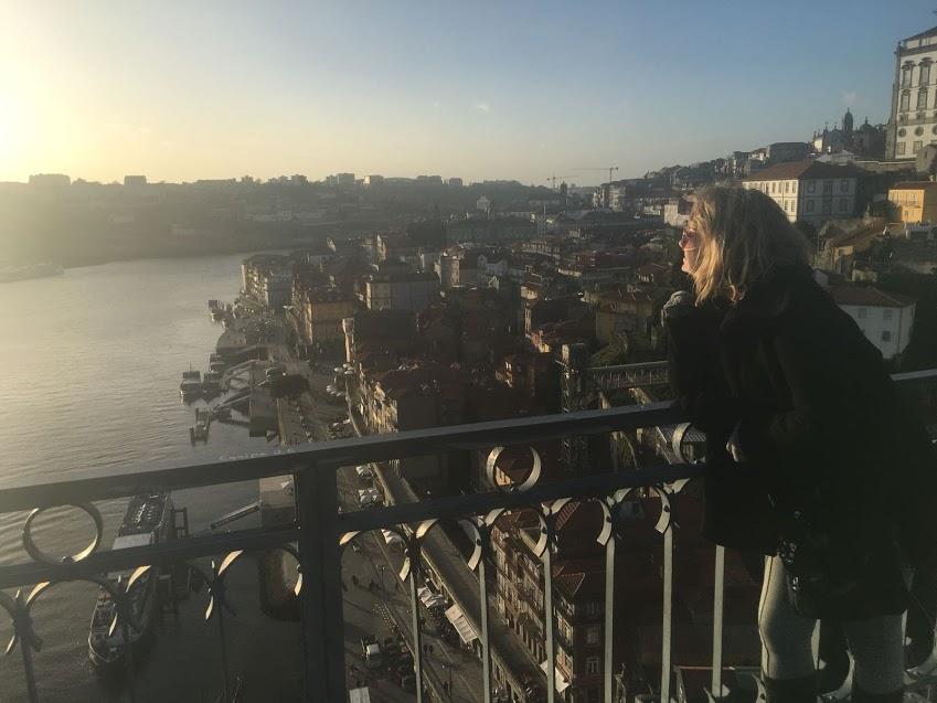Admirando da Ponte Luiz I