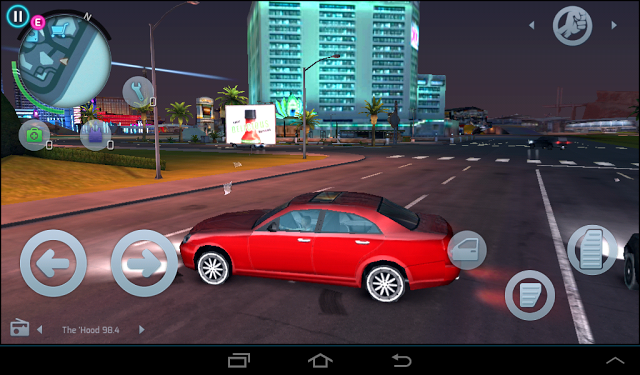 تم اطلاق أفضل لعبة شبيهة بلعبة GTA IV للأندرويد مجانا