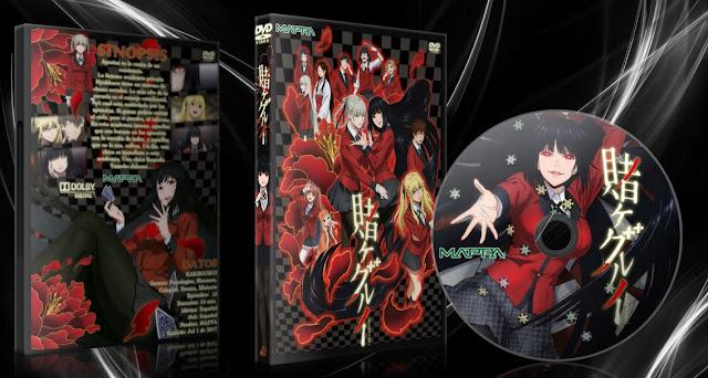 Kakegurui | Cover DVD | MEGA |