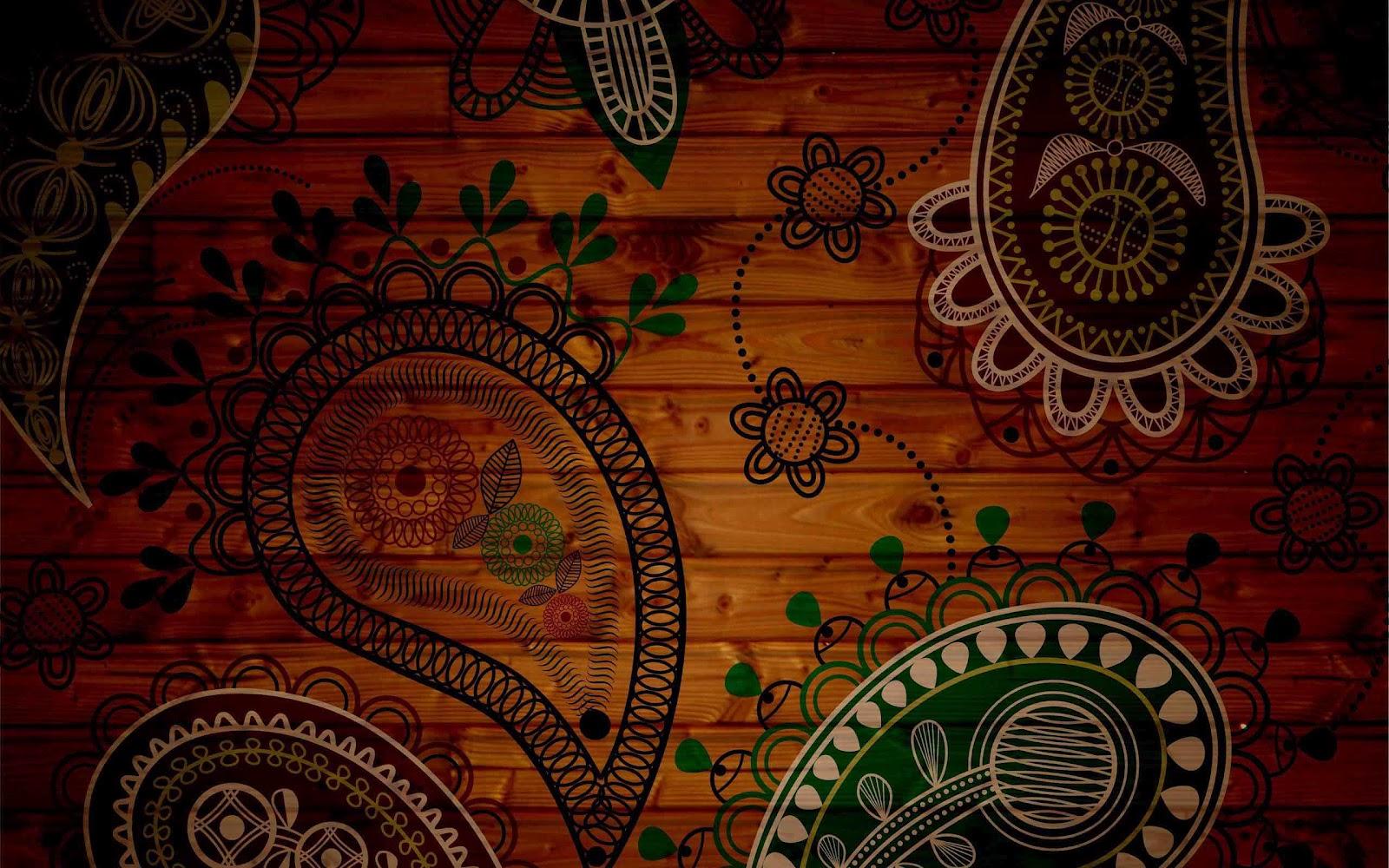 indian wallpaper design home - photo #5