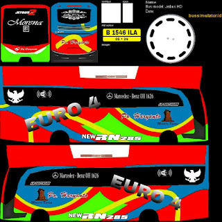 Download Livery Bus Haryanto