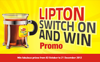 Lipton Switch on and Win Promo