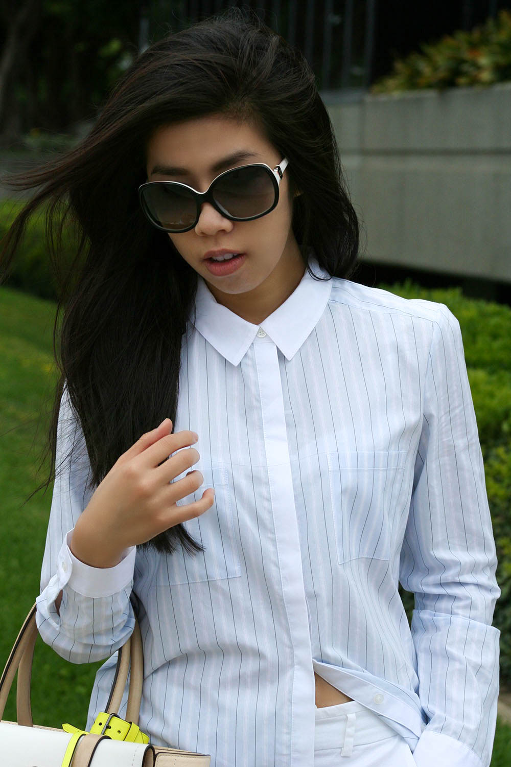 adrienne Nguyen_Invictus_la fashion blogger_california fashion blog_how to wear a shirt dress