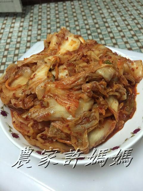 讓人一口接一口的農家許媽媽韓式泡菜