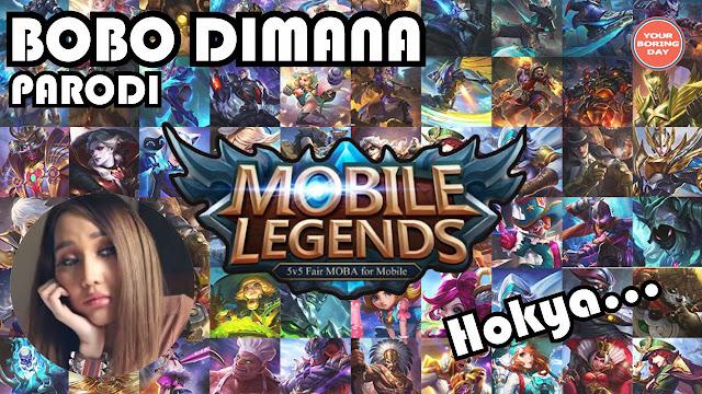 Parodi Bobo Dimana Versi Mobile Legends - Aliff Syukri Nur Sajat Lucinta Luna