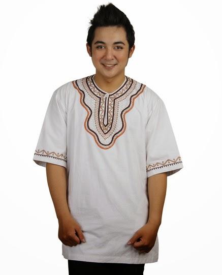 Tren desain baju muslim terbaru pria trendy