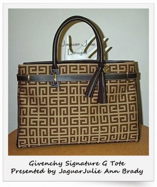Givenchy Signature Brown and Tan Tote