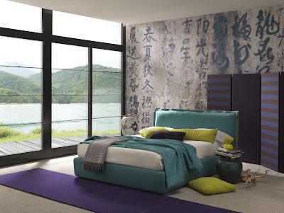 แบบห้องนอนชมวิวทะเล
