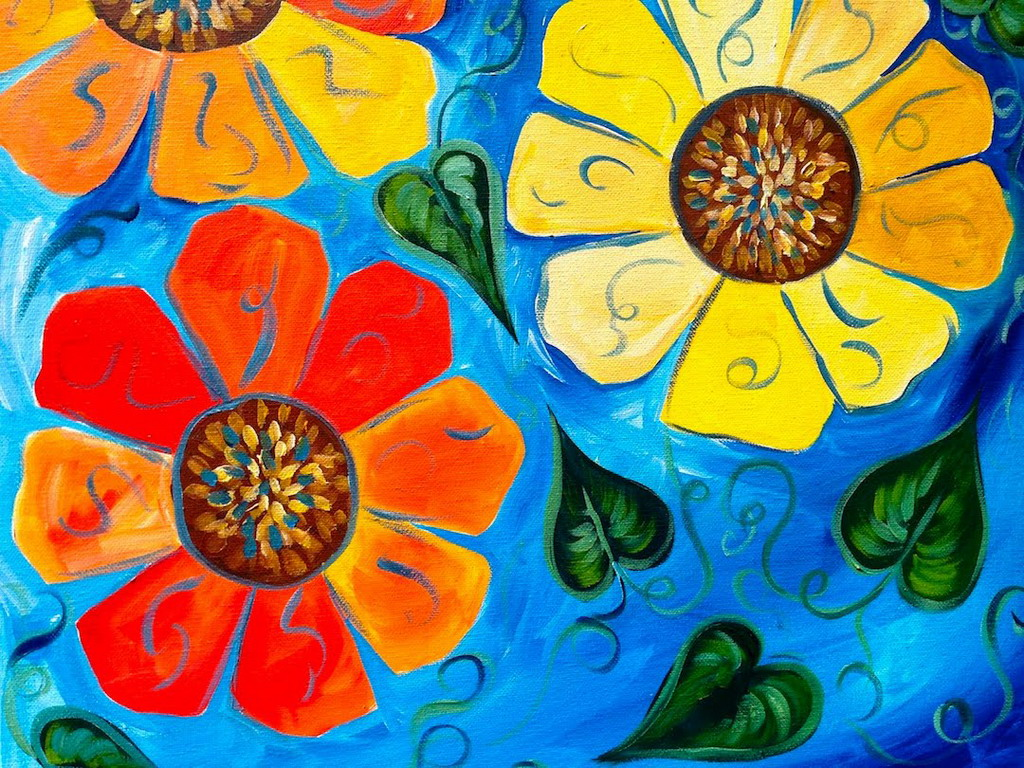 Arts And Crafts Style Painting Ideas