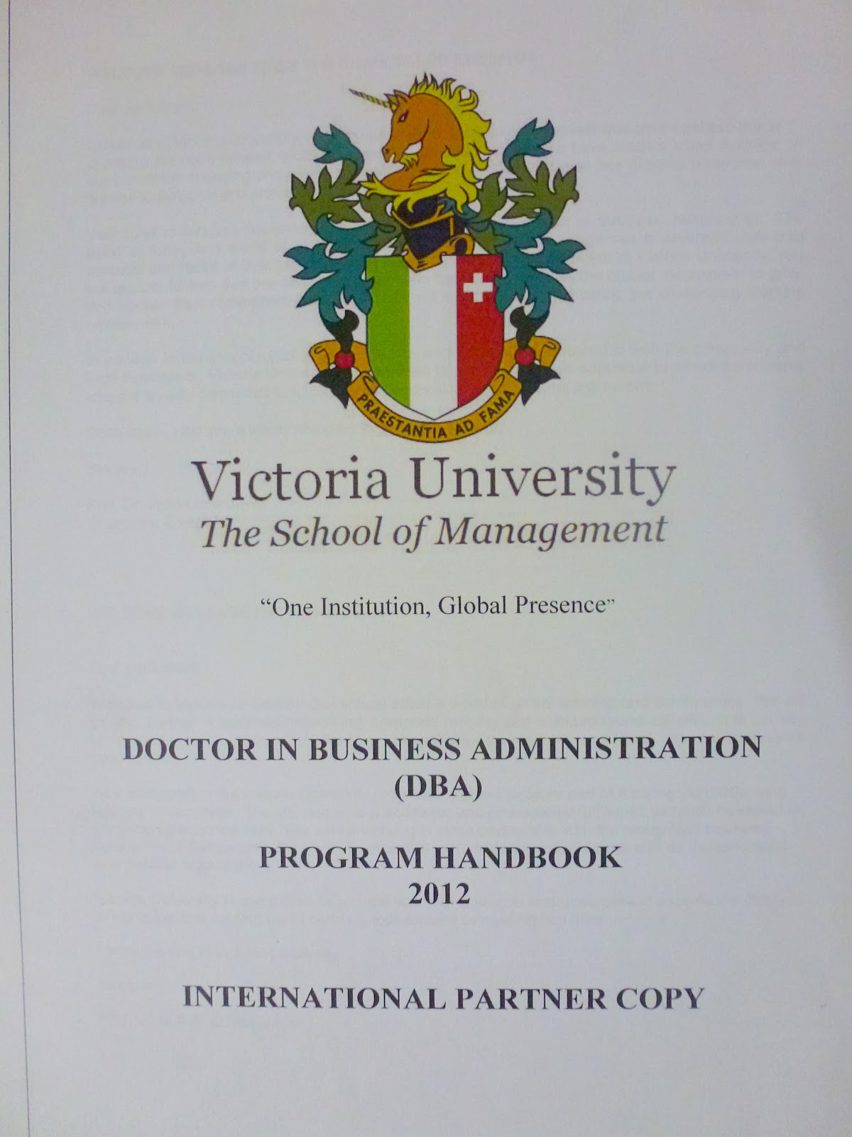 Doctoral thesis construction management distance learning business