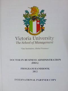 Doctor Of Business Administration >> QualityEdu: Doctor of Business Administration (DBA) - Victoria University, Switzerland