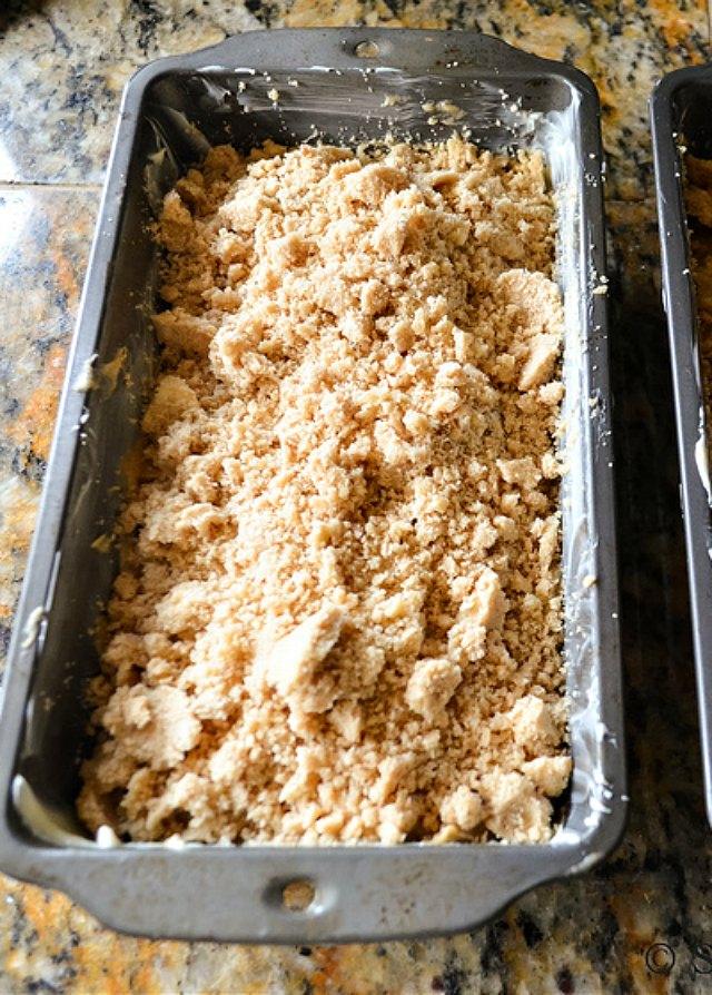 Zucchini Bread spread Brown Sugar Crumb. The best Zucchini Bread recipe from Serena Bakes Simply From Scratch.