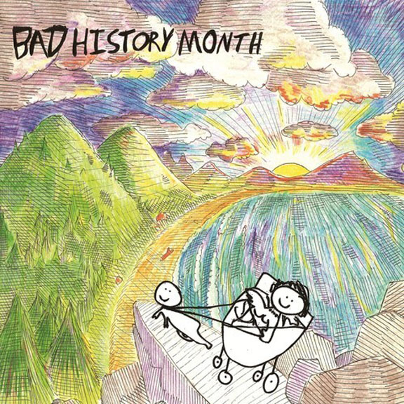 "Album Review: Fat History Month- ""Bad History Month"" - ""turns progressive post punk conventions inside out"""