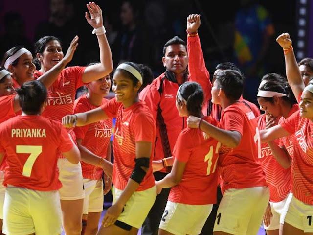 एशियाई खेल 2018 6 दिन रोइंग में टेनिस , महिला कबड्डी टीम ने जीता रजत