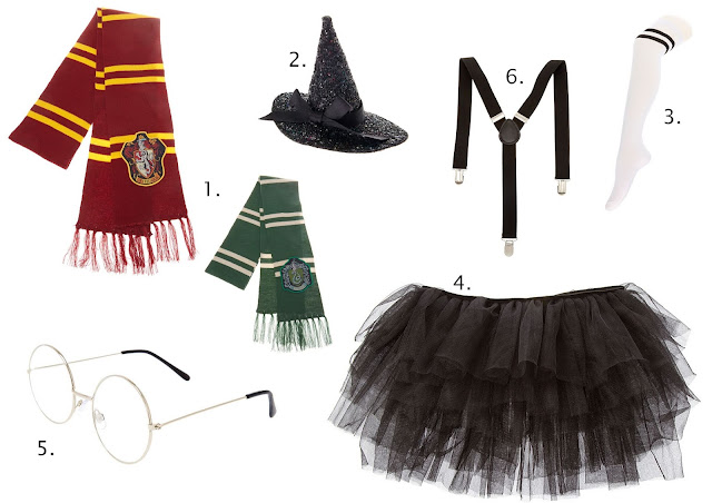 Accessoires déguisement Harry Potter chez Claire's blog mariage et jolies fêtes www.unjourmonprinceviendra26.com
