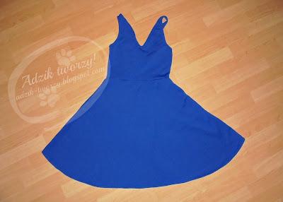 szycie sukienki