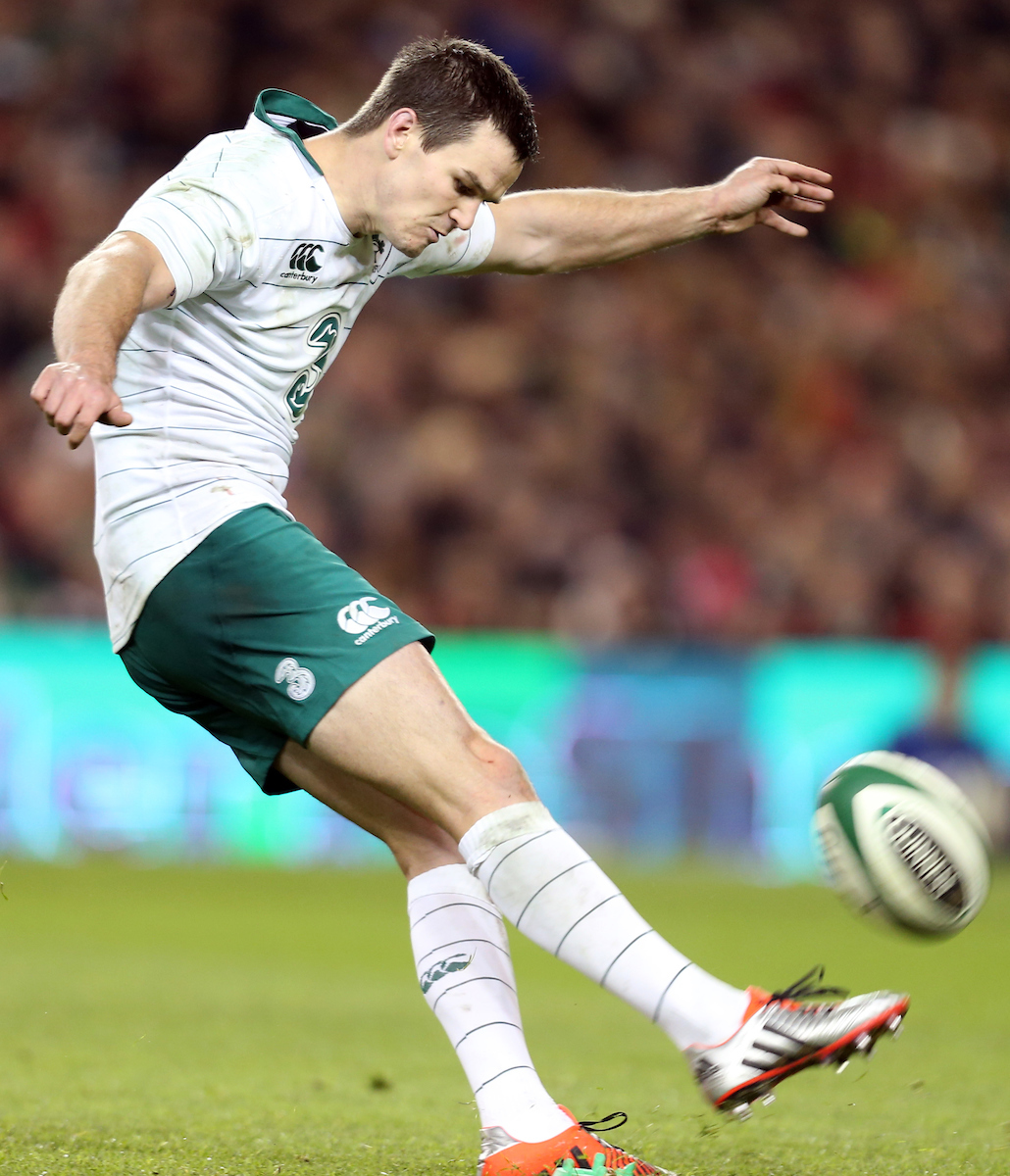 Jonathan Sexton of of Ireland