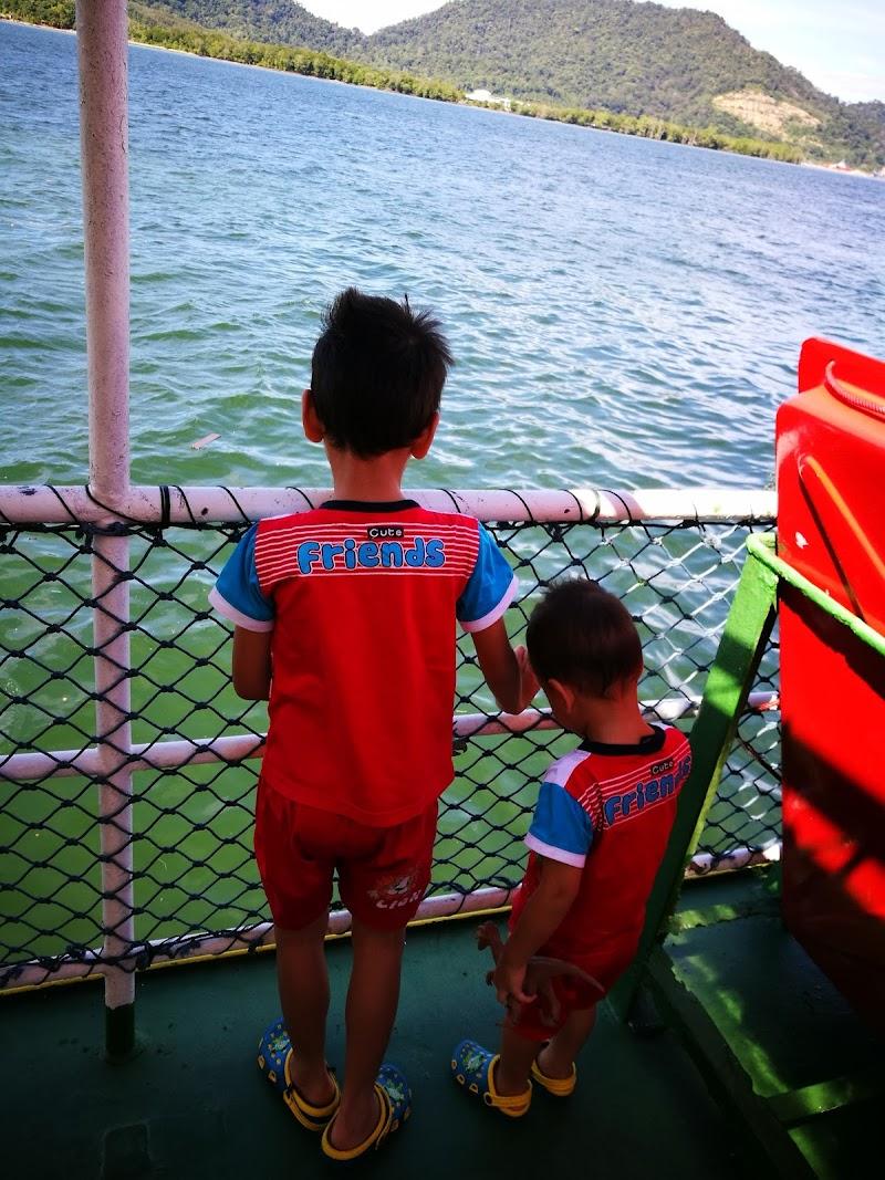 Travelling to Pulau Pangkor, Perak