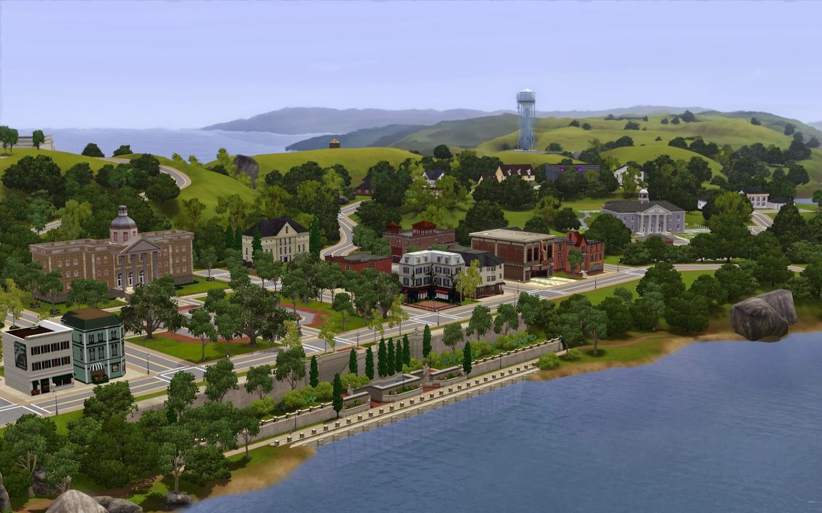 Summer S Little Sims 3 Garden Twinbrook The Sims 3