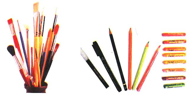 Bahan dan Alat Menggambar Ragam Hias
