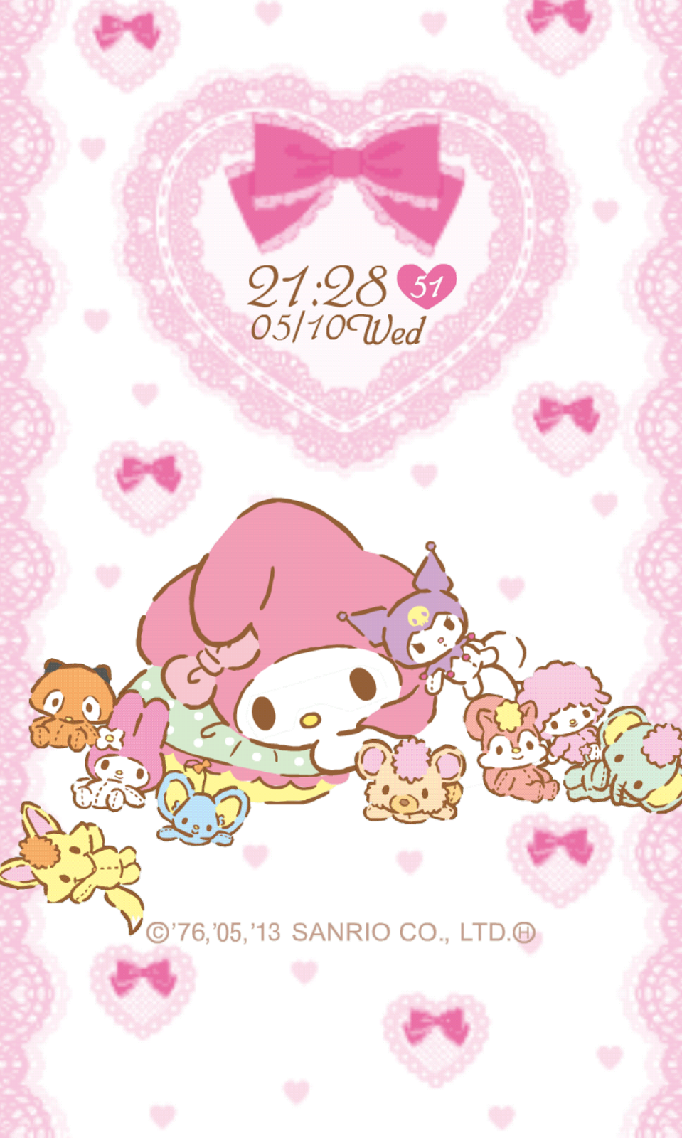 My Melody Live Wallpaper